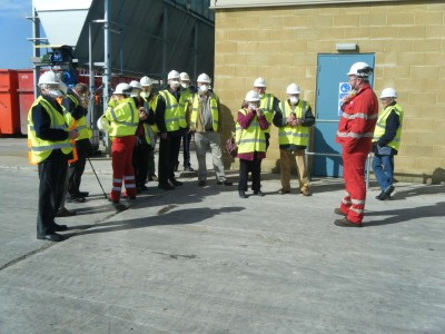 Science an Engineering Group visiting Westbury Recycling Plant